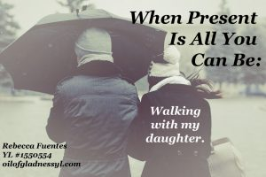 When grown children are walking through grief and difficult times, sometimes all we can do is walk with them.