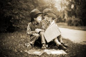 What our children read, see and listen to will change how they see the world.
